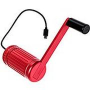Texenergy Infinite Orbit Red CRM-009 chargeur à manivelle
