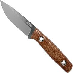 TRC Knives Classic Freedom, Brown Canvas Micarta outdoormes