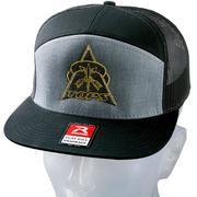 TOPS Knives HAT-01 7-Panel Trucker Hat, trucker pet