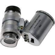 TSPROF 60x microscope de poche avec LED