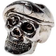 Spartan Blades Beret Skull bead