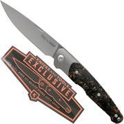 Viper Key V5978FCSC Bolster Copper Carbonfiber Knivesandtools Exclusive couteau de poche