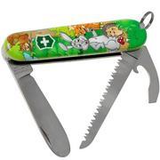 Victorinox My First Victorinox, Hasen Edition 0.2373.E2 Taschenmesser für Kinder