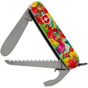 Victorinox My First Victorinox, Papagei Edition 0.2373.E3 Taschenmesser für Kinder
