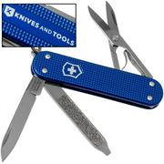 Victorinox Classic Alox Blue 0.6221-22R4.KTE1 Knivesandtools Edition, Zwitsers zakmes