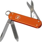 Victorinox Classic Alox Tiger Orange Limited Edition 2021 0.6221.L21 Swiss pocket knife