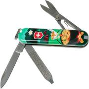 Victorinox Classic SD Swiss Mountain Dinner Limited Edition 2019 0-6223-L1907 Zwitsers zakmes