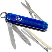 Victorinox Classic SD translucent blue 0.6223.T2 Swiss pocket knives
