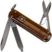 Victorinox Classic SD Translucent Colours, Chocolate Fudge 0.6223.T55G Swiss pocket knife