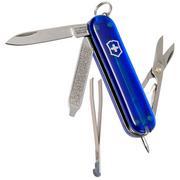 Victorinox Signature, Schweizer Taschenmesser, transparent blau