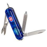 Victorinox Signature Lite, Schweizer Taschenmesser, transparent blau