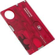 Victorinox SwissCard Lite translucent red 0.7300.T