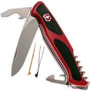 Victorinox RangerGrip 68 rouge-noir 0.9553.C couteau suisse