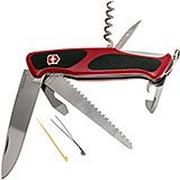 Victorinox RangerGrip 55 rouge-noir 0.9563.C couteau suisse