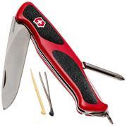 Victorinox RangerGrip 53 rouge-noir 0.9623.C couteau suisse