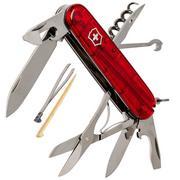 Victorinox Climber rouge transparent 1.3703.T couteau suisse