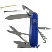 Victorinox Climber, bleu transparent 1.3703.T2 couteau suisse