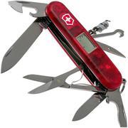 Victorinox Traveller transparant rood 1.3705.AVT Zwitsers zakmes