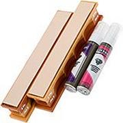 Wicked Edge 4/2 Micron Poly Diamond Emulsion & Leather Strops Pack