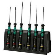Wera Kraftform Micro 6-piece screwdriver set with holder, 5118150001