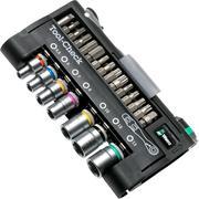 Wera Tool-Check Automotive 1, coffret d'embouts avec cliquet, tailles européennes,5200995001