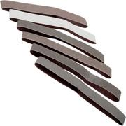 Work Sharp sharpening belts for the Blade Grinding Attachment, X200 ultra-coarse - X5 fine, SA0003563
