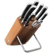 Wüsthof Classic Ikon ensemble de couteaux, 8 pièces, marron, 1090370802