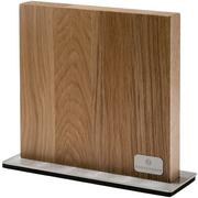 Zassenhaus magnetic knife block oak wood